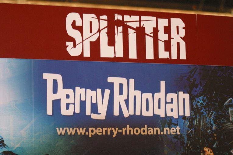 Gemeinschaftsstand: PERRY RHODAN / Splitter-Verlag