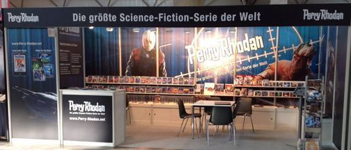 Messestand Leipziger Buchmesse 2014