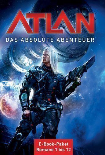 Cover E-Book-Paket »ATLAN - das absolute Abenteuer«