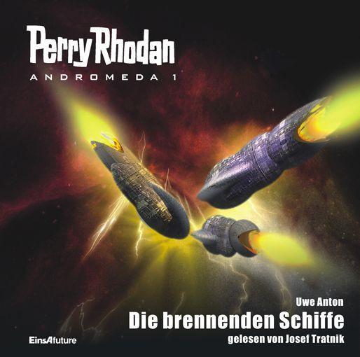 Audio-Cover PERRY RHODAN-Andromeda 1