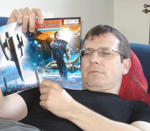 PERRY RHODAN-Fan Christoph Thurner (Bild: Christoph Thurner)