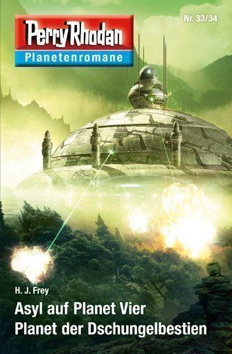 PERRY RHODAN-Planetenromane 33/34 – Cover von Dirk Schulz
