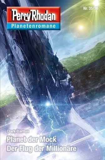 PERRY RHODAN-Planetenromane 35/36 – Cover von Dirk Schulz