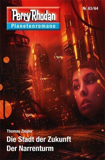 PERRY RHODAN-Planetenromane 63/64 – Cover von Arndt Drechsler