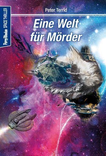 Space-Thriller 2 – Cover von Lothar Bauer