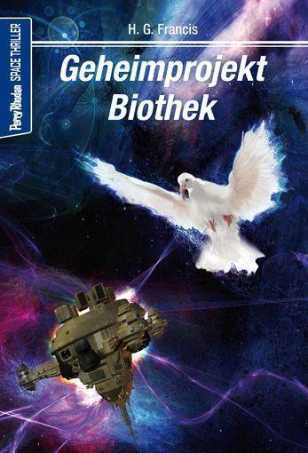 Space-Thriller 3 – Cover von Lothar Bauer