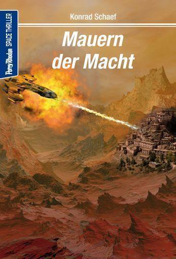 Space-Thriller 4 – Cover von Lothar Bauer